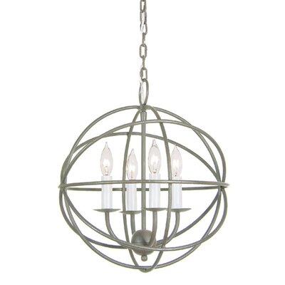 Globe 4-Light Globe Pendant