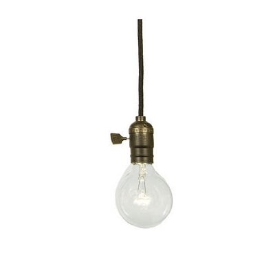 Edgar 1-Light Pendant Finish: Weathered Bronze