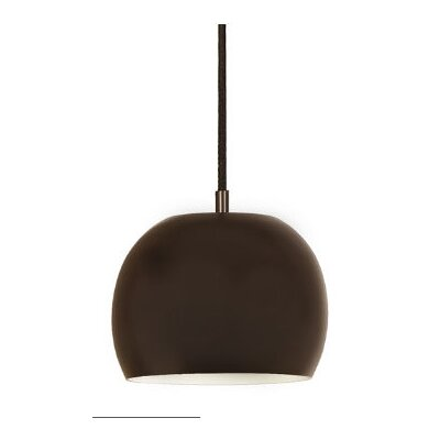 Bristol 1-Light Small Pendant Finish: Oil Rubbed Bronze