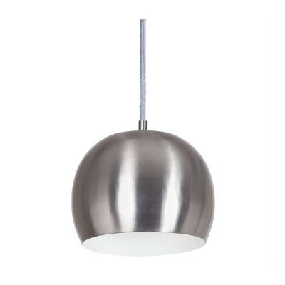 Bristol 1-Light Small Pendant Finish: Pewter
