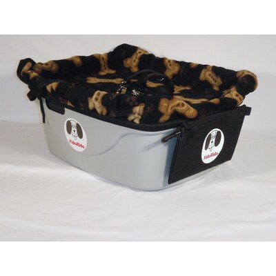 FidoRido 1 Seater Dog Car Seat - Finish: Gray, Harness Size: Large