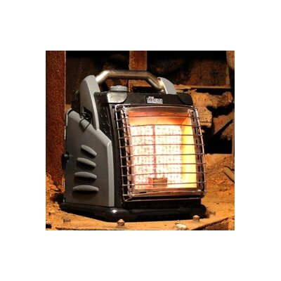 Shinerich The Boss Portable 20,000 BTU Infrared Compact Propane Space Heater - Finish: Black/Gray at Sears.com