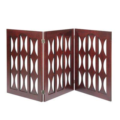 Elton Dog Gate Size: 32 H x 72 W x 0.75 D