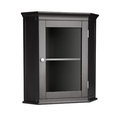 Madison Avenue Dark Corner Wall Cabinet