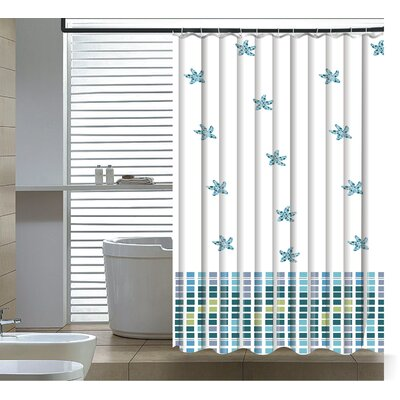 Elegantly Abstract Shower Curtain