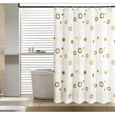 Hoopes Abstract Shower Curtain