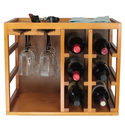 Wine Cages 6 Bottle Tabletop Wine Rack