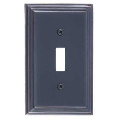 Classic Steps Single Switch Plate Finish: Venetian Bronze