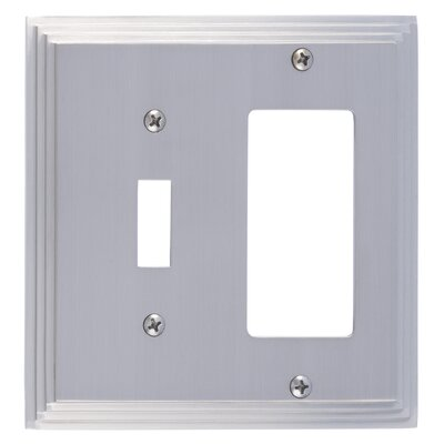 Classic Steps GFCI Plate Finish: Satin Nickel