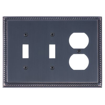 Georgian Outlet Plate Finish: Venetian Bronze