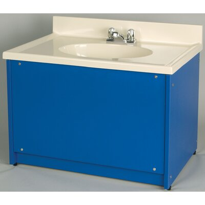 1000 Series 122 Single Bathroom Vanity Set Finish: Pearl White