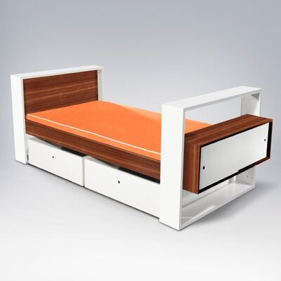 Furniture rental Austin Youth Bed with Storage Drawe...