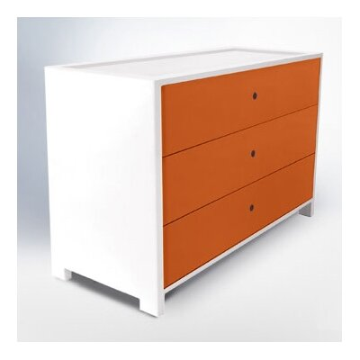 Cheap ducduc Parker Three-Drawer Dresser (DDC1271)