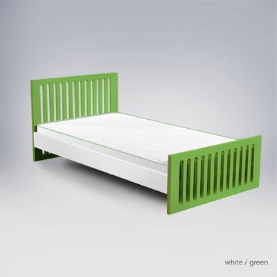 In store financing Alex Classic Twin Bed Headboard / F...