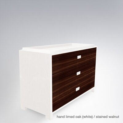 Campaign 3 Drawer Changer Finish: Stained Walnut Camp3DC-AC-StainWaln