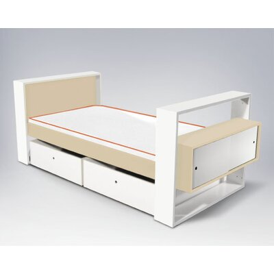 No credit financing Austin Youth Bed with Trundle Size:...