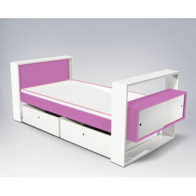 Rent to own Austin Youth Bed with Trundle Accen...