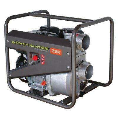 17.96 GPH Storm Surge Portable Semi Trash Pump