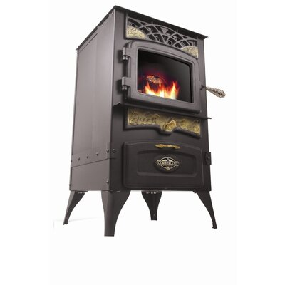 Multi Fuel Pellet Stove Trim Color: Gold