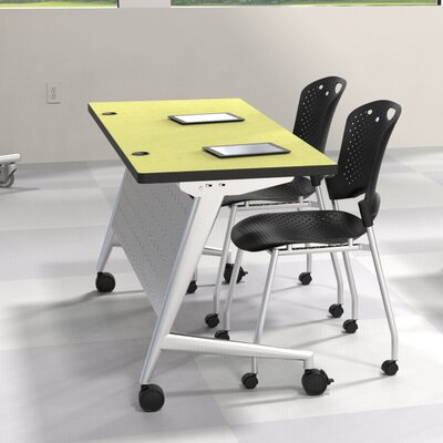Trend Fliptop Training Table Size: 24 H x 48 W x 24 D Product Image 491