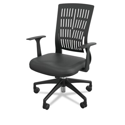 Mid-Back Fly Office Chair Color: Black Product Photo 262