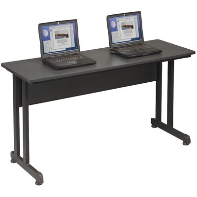 55 W PJ Training Table with Wheels