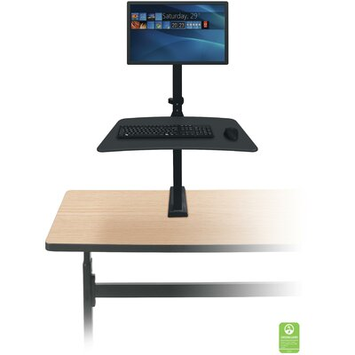 Up-Rite Rear Workstation Height Adjustable Workstation/Cart