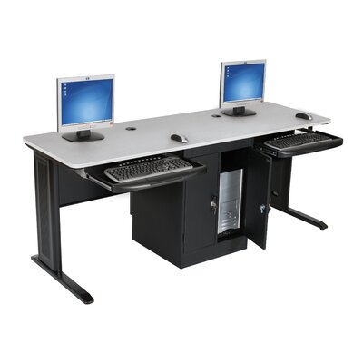 72 W BALT� LX Computer Table with Leg Glides