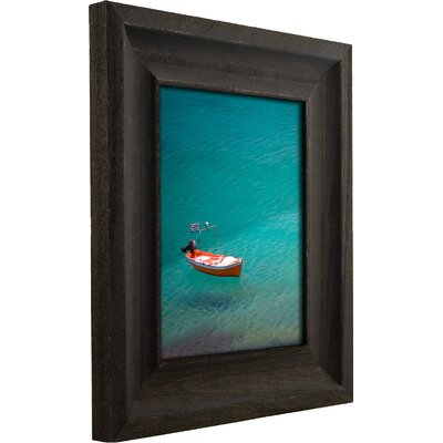 2.5 Wide Distressed Wood Picture Frame / Poster Frame