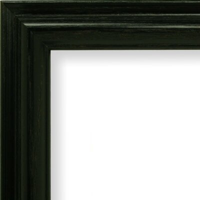 "1"" Wide Wood Grain Picture Frame Size: 4"" x 6"" 130ASHBK0406WAF"