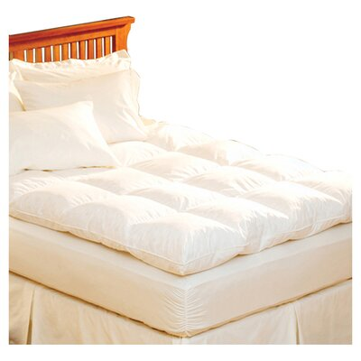 Luxe Loft 100% Cotton Feather Bed Size: California King