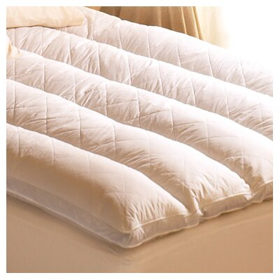 Euro Rest 100% Cotton Feather Bed Size: Queen