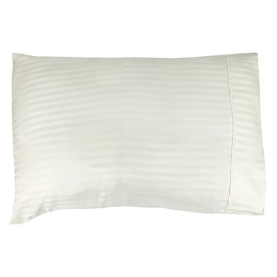 Home Super Soft Weaven Striped Pillowcase