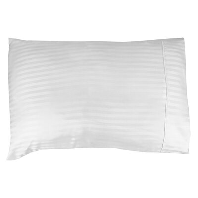 Couture Home Super Soft Microfiber Woven Striped Pillowcase