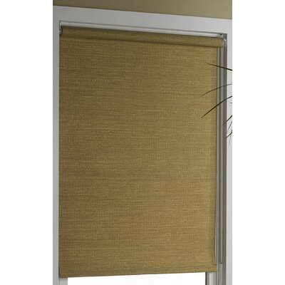 Almanzar Room Darkening Roller Shade Size: 24 W x 72 L, Color: Wicker