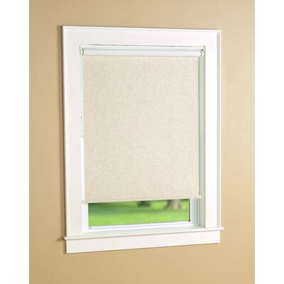Huntington Blackout Beige Roller Shade Size: 34 W x 72 L