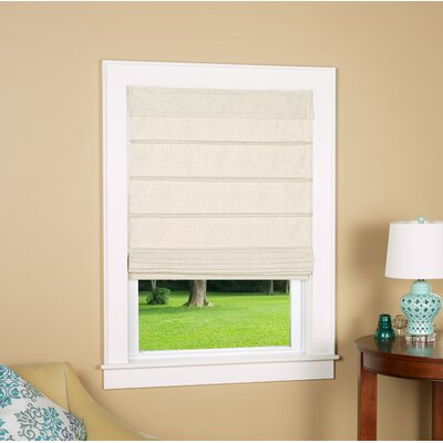 Colt Room Darkening Roman Shade Blind Size: 26 W x 64 L, Color: Linen