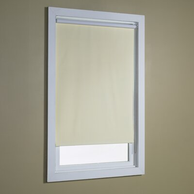 Blackout Roller Shade Color: Cream, Size: 32 W x 72 L