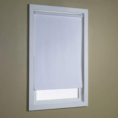 Blackout Roller Shade Size: 34 W x 72 L, Color: White
