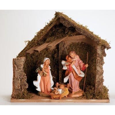 3 Piece Figurine Set with Italian Stable 54909