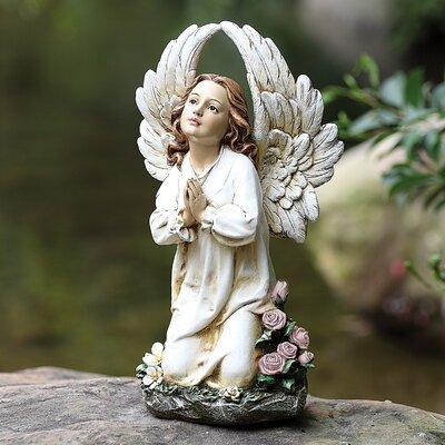 Joseph's Studio Kneeling Angel Garden Statue