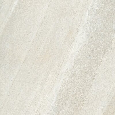 Magnum 32 x 32 Porcelain Field Tile in Stone Burl White