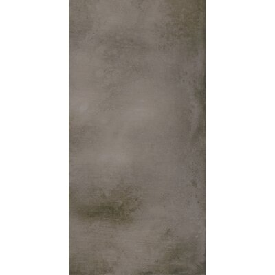 Metal Max 24 x 48 Porcelain Field Tile in Dark Gray