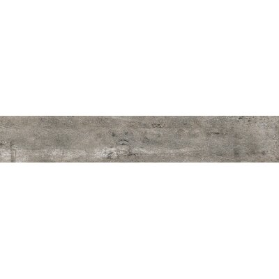 Concrete 24 x 4 Bullnose Tile Trim in Ash Gray