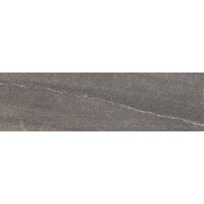 Burlington 24 x 4 Bullnose Tile Trim in Dark Gray