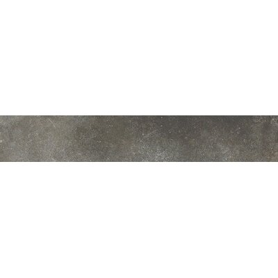 Varese 24 x 4 Bullnose Tile Trim in Grafite