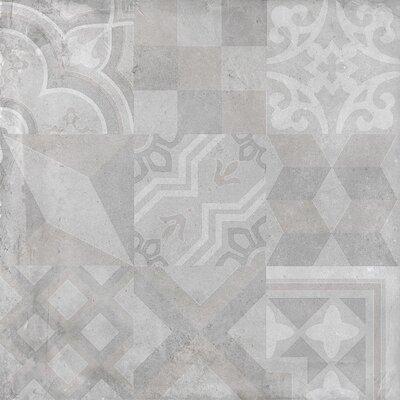 Alive 24 x 24 Porcelain Tile in Dust Deco