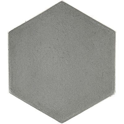 Urban Hexagon 5.4 x 5.4 Field Tile in Gray