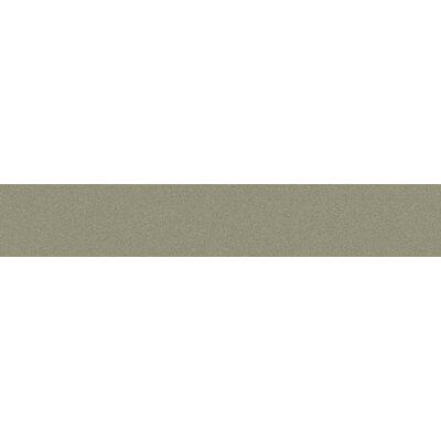 Modern 3 x 16 Bullnose Tile Trim in Cemento