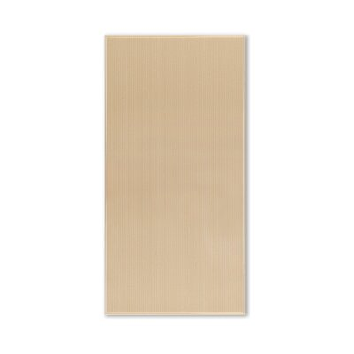 Modern 8 x 16 Ceramic Fabric Look/Field Tile in Beige